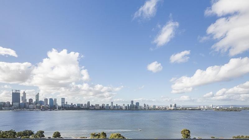 Perth, Western Australia City Skyline