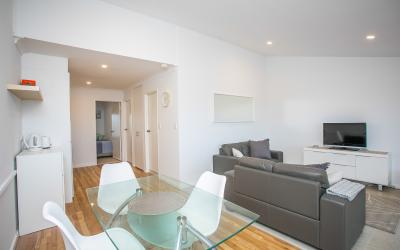 Scarborough Seaside Apartment 121 - Living Area - Short term accommodation in Perth Western Australia
