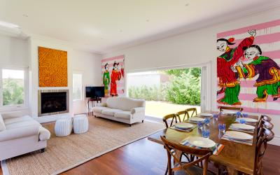 Strickland Park Family House - Dining Area/Living Area - holiday accommodation rentals for short term stays in Perth