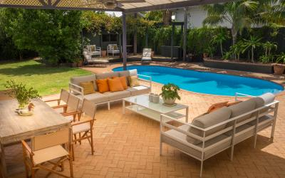 The Kinninmont House, Nedlands - Outdoor Area- Corporate Accommodation in Perth Western Australia