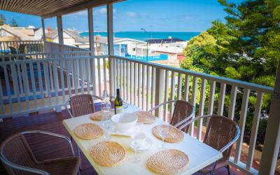 Cottesloe Waters Apartment 8 - Balcony - holiday accommodation rentals for short term stays in Perth