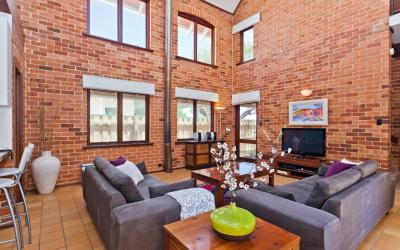 Cottesloe Renaissance Beach House - Living Area- holiday accommodation rentals for short term stays in Perth