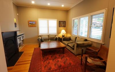 Living area- Loma Beach Cottage- Short term accommodation Perth