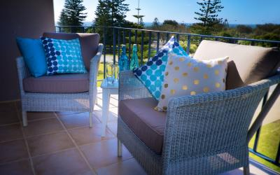 Cottesloe Marine Apartment - Balcony - holiday accommodation rentals for short term stays in Perth