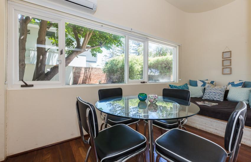 Cottesloe Bel-Air Apartment - Dining Area - holiday accommodation rentals for short term stays in Perth