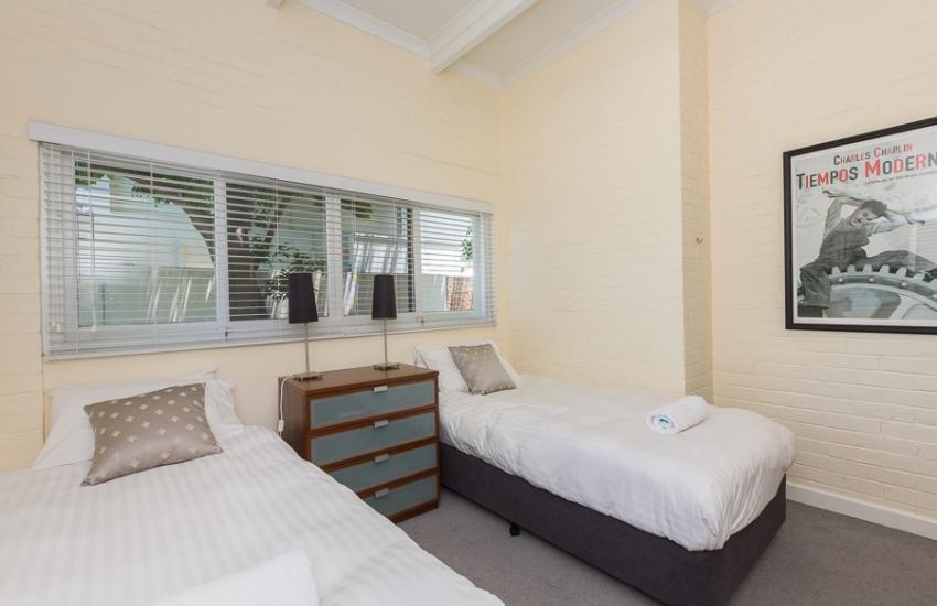 Cottesloe Bel-Air Apartment - Bedroom - holiday accommodation rentals for short term stays in Perth