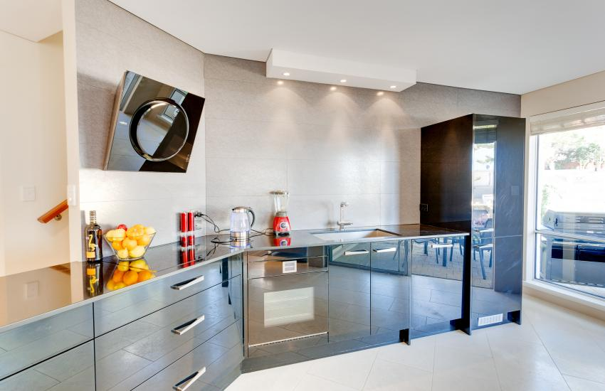 Cottesloe Contemporary Villa - Kitchen Area - holiday accommodation rentals for short  term stays in Perth