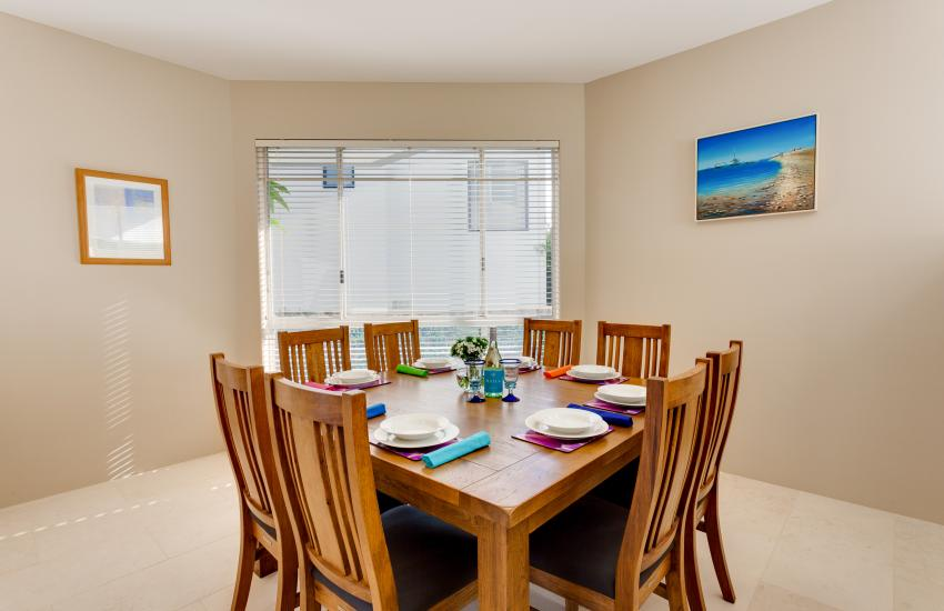 Cottesloe Contemporary Villa - Dining Area - holiday accommodation rentals for short  term stays in Perth