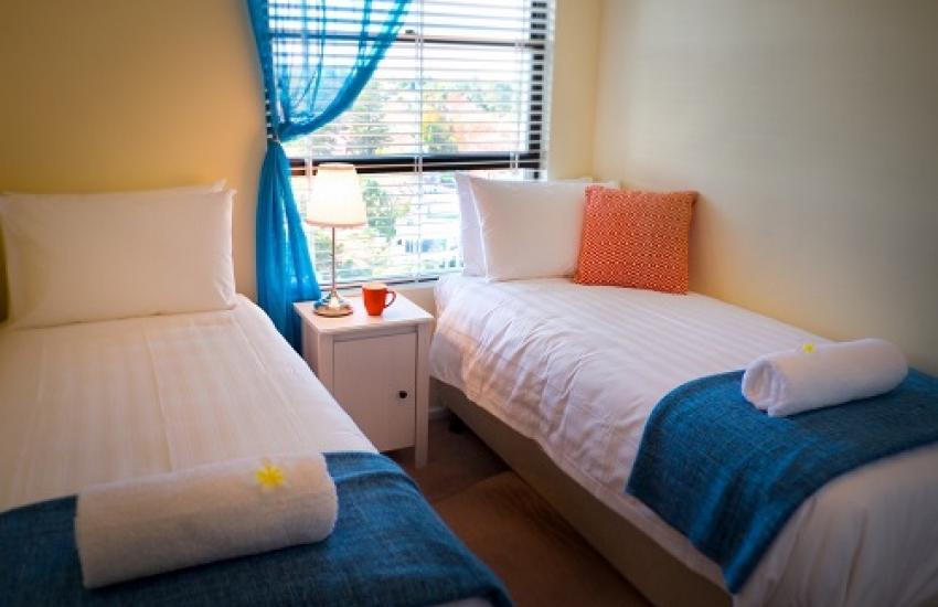 Skyview Claremont Apartment - Bedroom - holiday accommodation rentals for short term stays in Perth