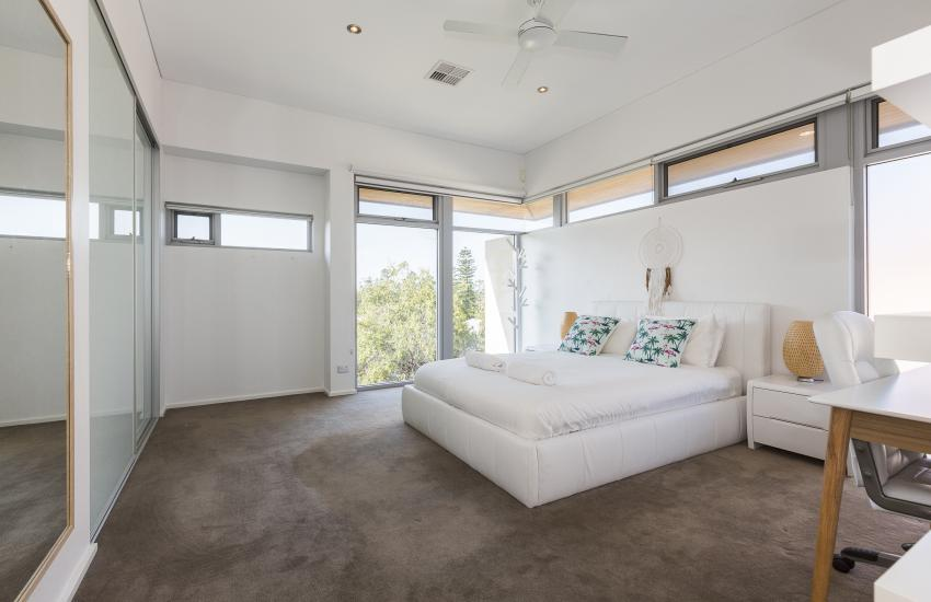 Cottesloe Luxury Villa- Bedroom - Short stay holiday accommodation rentals