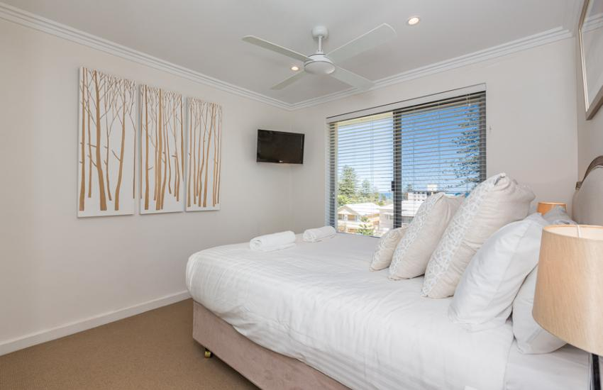 Cottesloe Beach Pines Apartment  - Bedroom - holiday accommodation rentals for short term stays in Perth