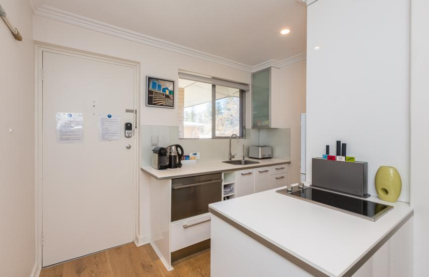 Cottesloe Beach Pines Apartment  - Kitchen - holiday accommodation rentals for short term stays in Perth