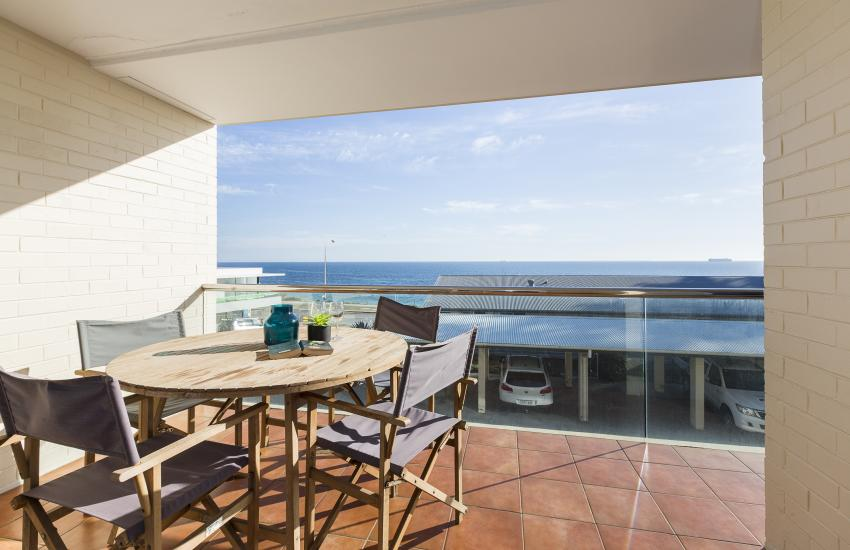 Cottesloe Azura Apartment - Balcony View - Short Term Accommodation Holiday Apartment Perth Western Australia
