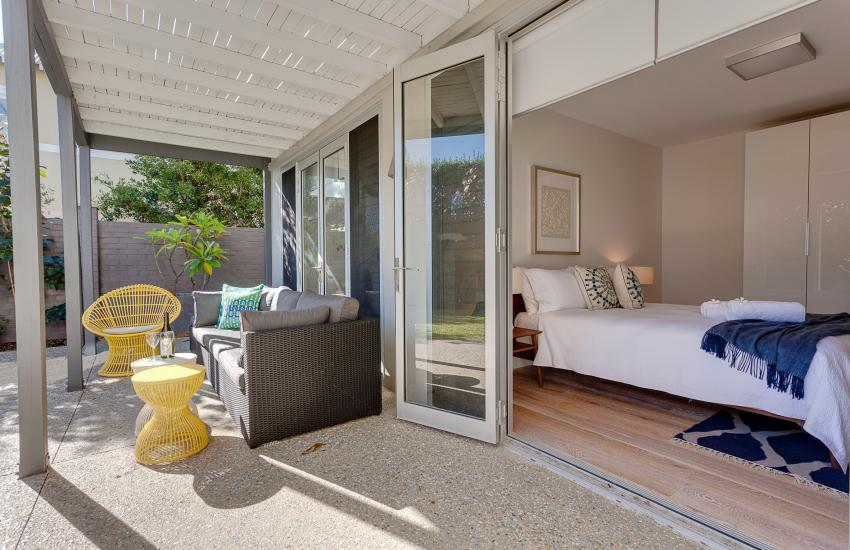 Cottesloe Executive Beach House - Bedroom/Living Room - holiday accommodation rentals for short term stays in Perth