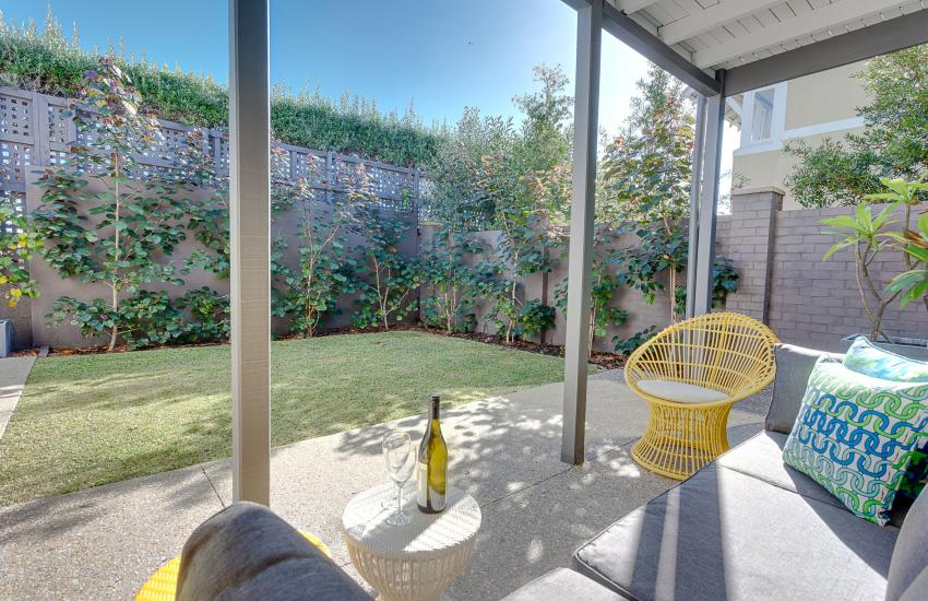 Cottesloe Executive Beach House - Outdoor Area/Living Room - holiday accommodation rentals for short term stays in Perth