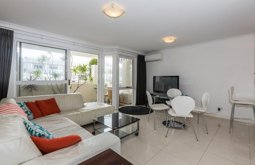 The Cove Beach Apartment - Living Area - Cottesloe Short Stay Accommodation