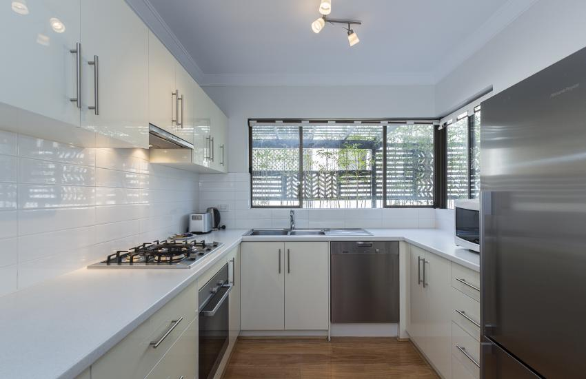 The Sea Salt Abode - Kitchen - Cottesloe Short Stay Accommodation Holiday Rental Perth