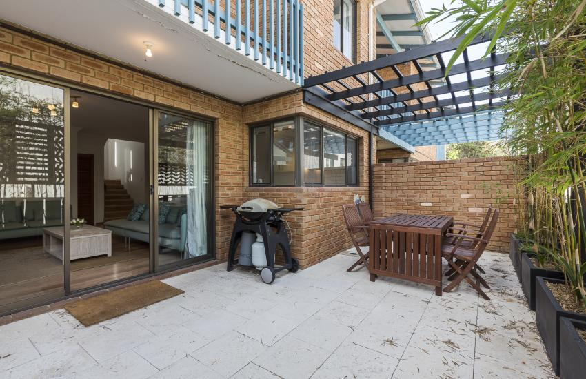 The Sea Salt Abode - Outside Area - Cottesloe Short Stay Accommodation Holiday Rental Perth
