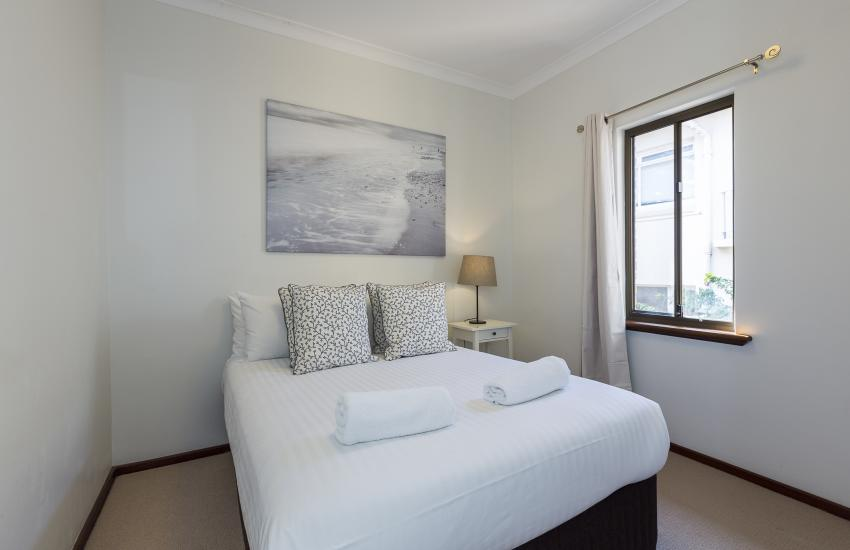The Sea Salt Abode - Second Bedroom - Cottesloe Short Stay Accommodation Holiday Rental Perth