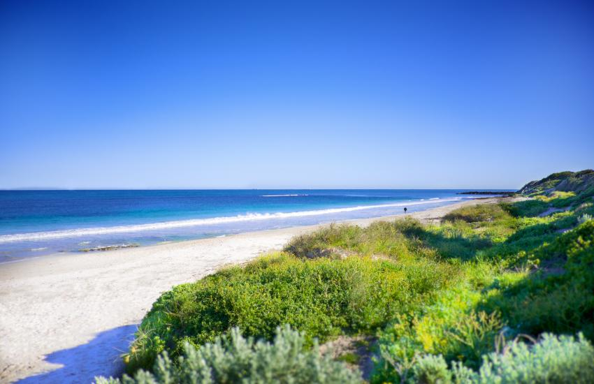 Oceanview Beach Apartment - Outdoor Area - holiday accommodation rentals for short term stays in Perth