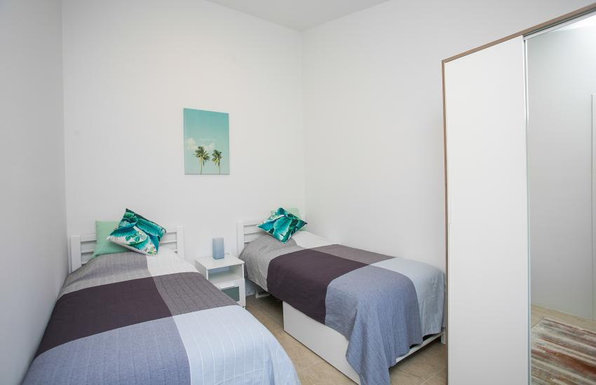 Scarborough Seaside Apartment 217 - Bedroom 2 - Short term accommodation in Perth Western Australia