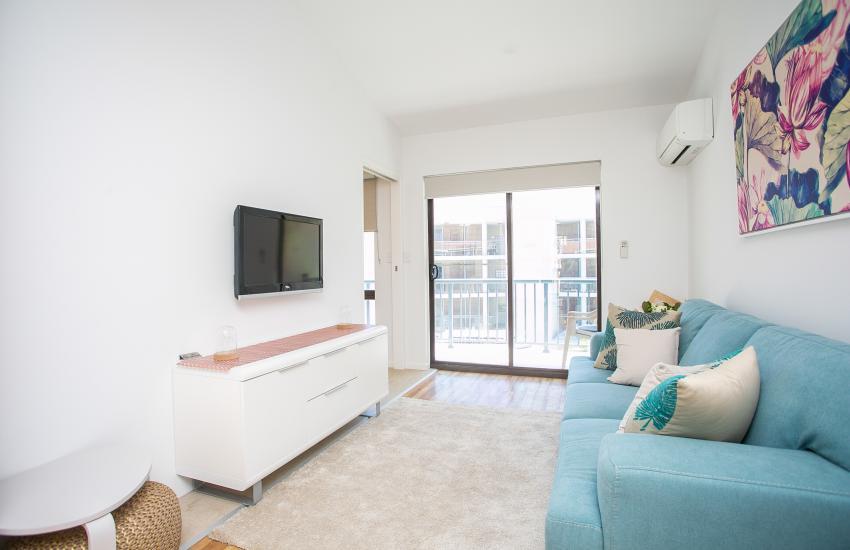 Scarborough Seaside Apartment 217 - Living Area - Short term accommodation in Perth Western Australia