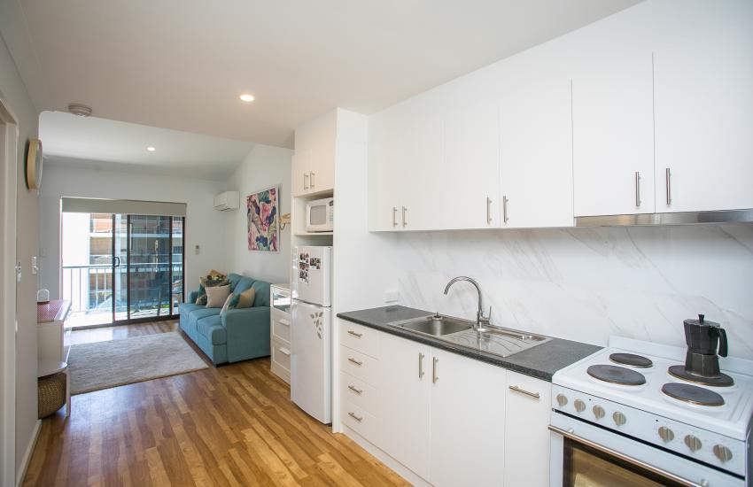Scarborough Seaside Apartment 217 - Open Plan - Short term accommodation in Perth Western Australia