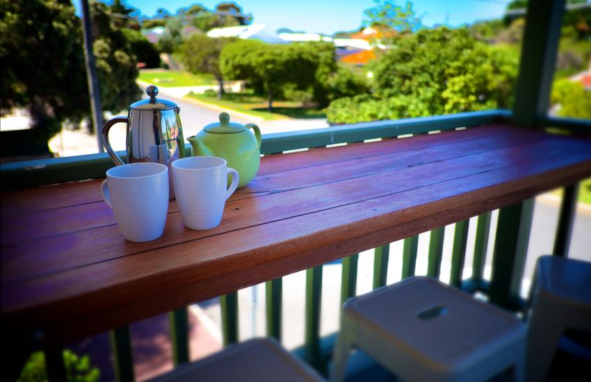 UrbanStyle Claremont Apartment - Outdoor Area - holiday accommodation rentals for short term stays in Perth