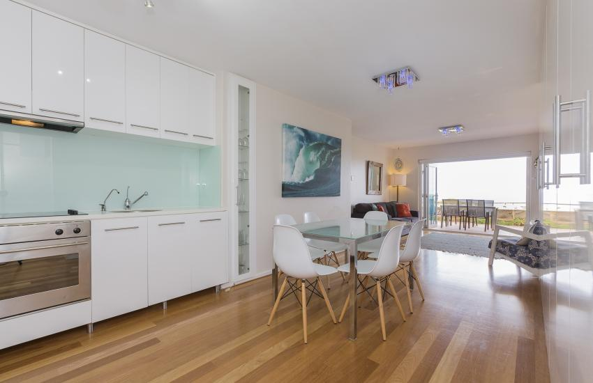 Cottesloe Sakura Blue Apartment - Open Plan Living - holiday accommodation rentals for short term stays in Perth