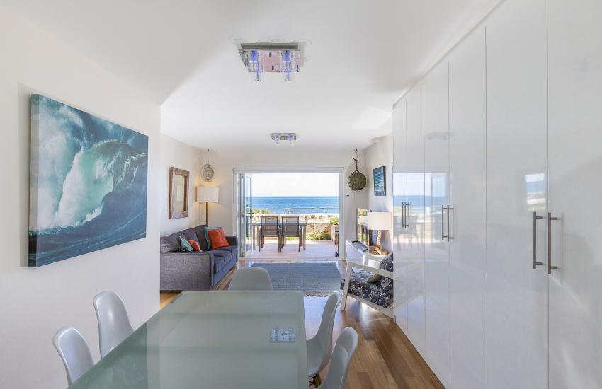 Cottesloe Sakura Blue Apartment - Open Plan Living Area - holiday accommodation rentals for short term stays in Perth