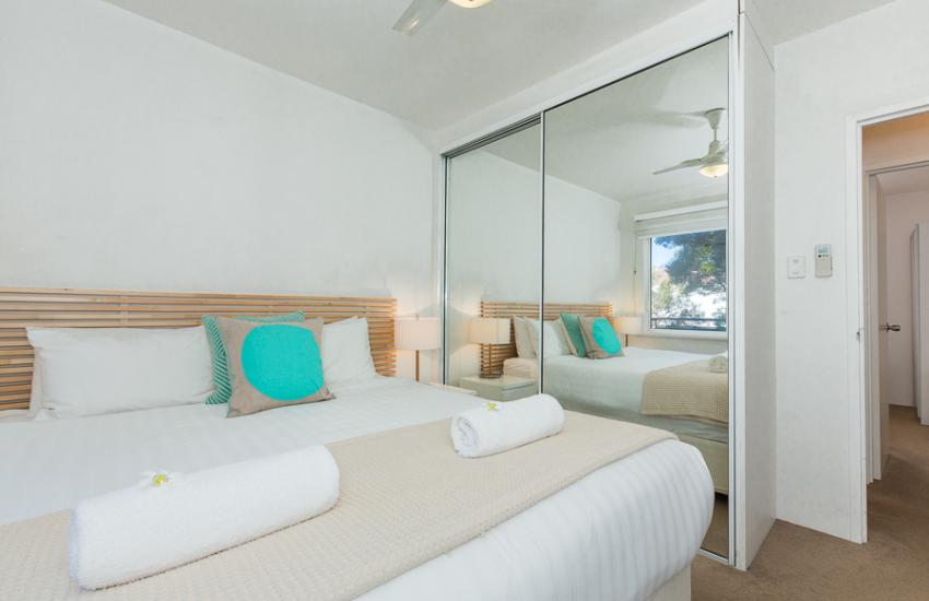 Cottesloe Samsara Apartment  - Bedroom - holiday accommodation rentals for short  term stays in Perth