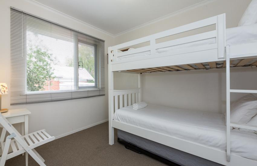 Claremont Apartment Number 6 - Second Bedroom - Perth Short Term Accommodation