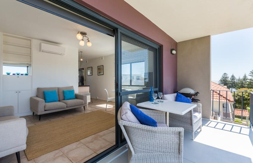 Cottesloe Marine Apartment - Outdoor Area - holiday accommodation rentals for short term stays in Perth