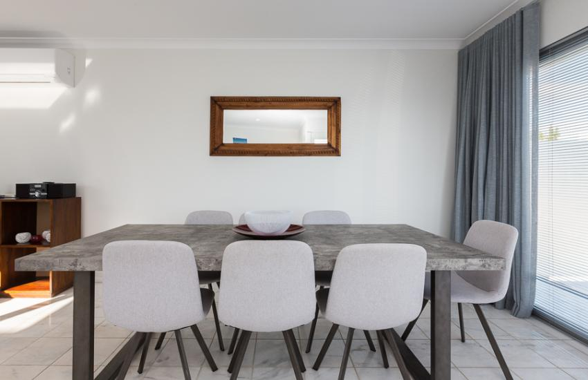 Cottesloe Beach House II - Dining Room - holiday accommodation rentals for short term stays in Perth
