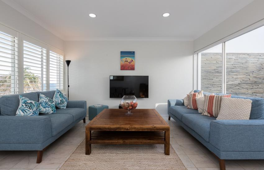 Cottesloe Beach House II - Lounge Room - holiday accommodation rentals for short term stays in Perth
