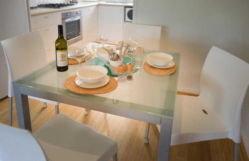Cottesloe Waters Apartment 9 - Dining - holiday accommodation rentals for short term stays in Perth