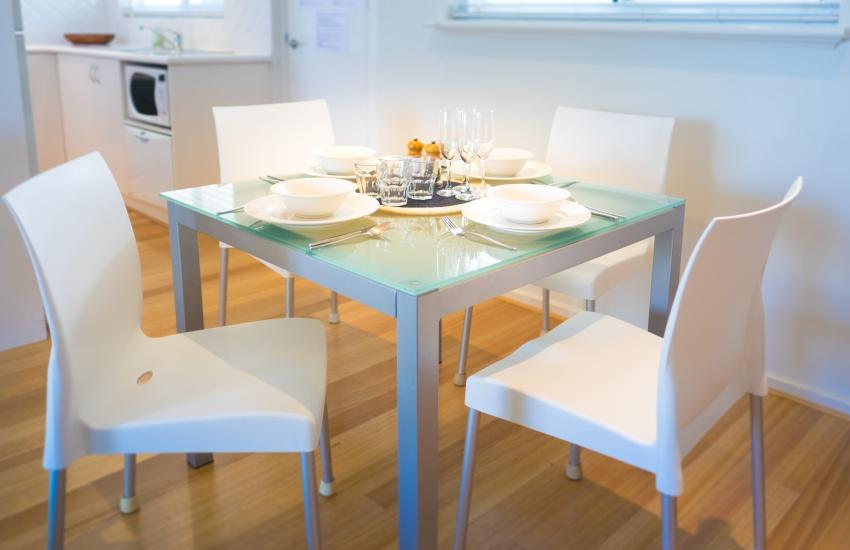 Cottesloe Waters Apartment 8 - Dining- holiday accommodation rentals for short term stays in Perth