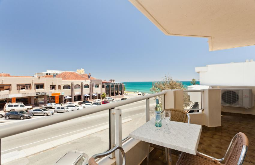 Cottesloe Beach Executive Apartment Balcony Outdoor Area Holiday Accommodation Rentals For Short Term