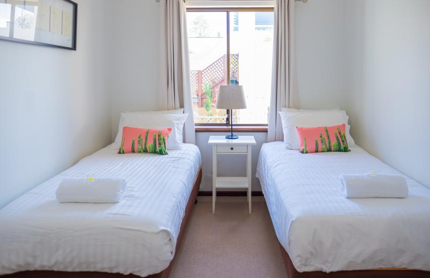 The Sea Salt Abode - Third Bedroom - Cottesloe Short Stay Accommodation Holiday Rental Perth