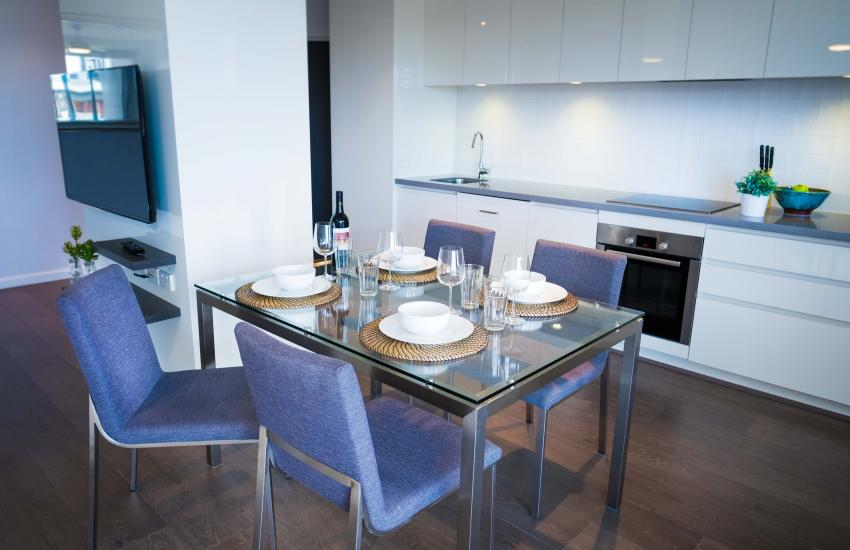 Claremont Vogue Apartment - Dining - holiday accommodation rentals for short term stays in Perth