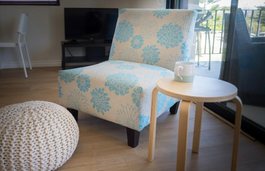 Cottesloe Beach on Napier - Living Area - Cottesloe Fully Furnished Accommodation, Perth Western Australia