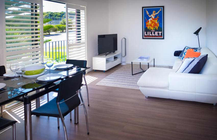 Cottesloe Parkside on the Beach- Lounge Room - holiday accommodation rentals for short term stays in Perth
