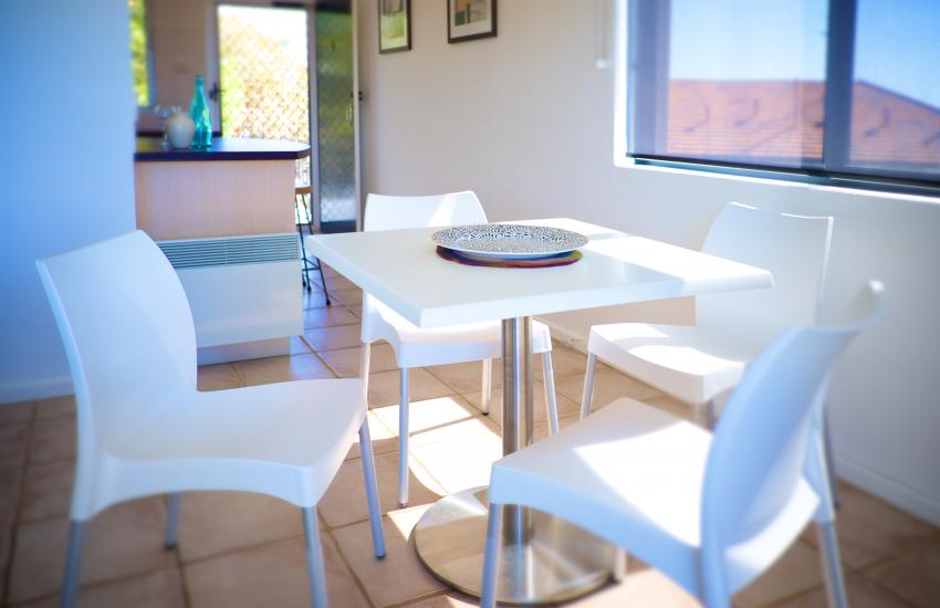 Cottesloe Marine Apartment - Dining Area - holiday accommodation rentals for short term stays in Perth