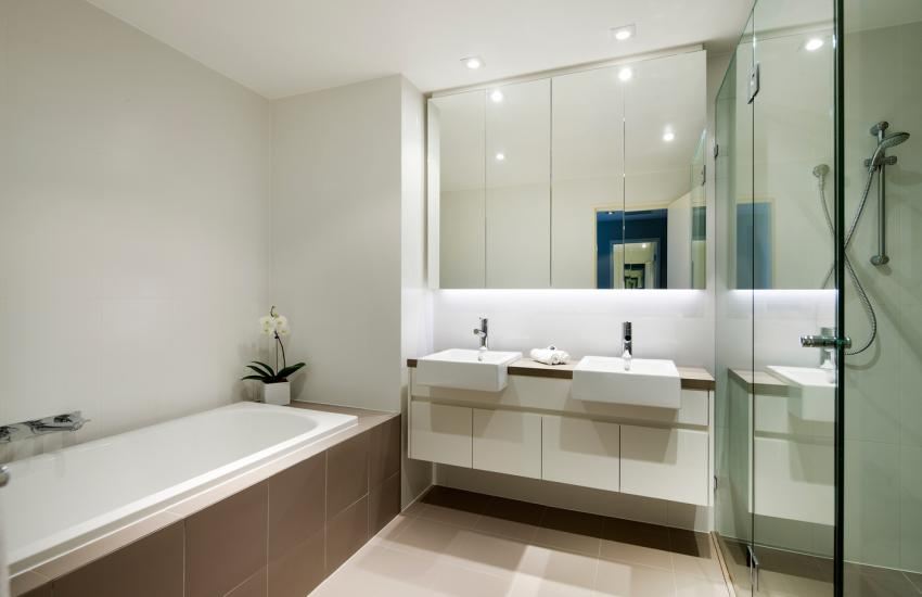 Claremont Quarter Luxury Apartment   Bathroom   Holiday Accommodation  Rentals For Short Term Stays In Perth