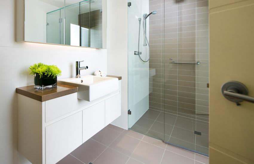 Claremont Quarter Luxury Apartment - Bathroom - holiday accommodation rentals for short term stays in Perth