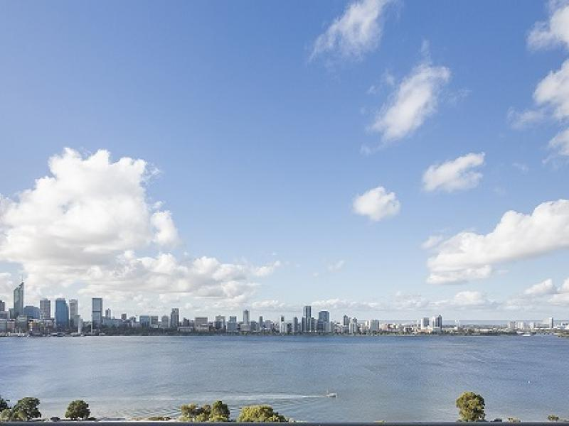 Perth, Western Australia City Skyline