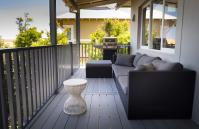 Cottesloe Executive Beach House - Balcony - holiday accommodation rentals for short term stays in Perth
