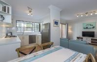 The Sea Salt Abode - Open Plan Living Area - Cottesloe Short Stay Accommodation Holiday Rental Perth