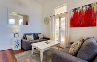 Cottesloe Beach House I - Living Area - holiday accommodation rentals for short term stays in Perth