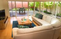Inner Western Suburbs Retreat - Living Area - holiday accommodation rentals for short  term stays in Perth